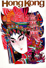 ART ad Hong Kong da viaggio POSTER stampati