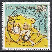 2818 Vollstempel gestempelt Briefzentrum 68 BRD Bund Deutschland Jahrgang 2010