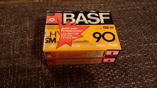 BASF LH 90 audiocassette in double CBox