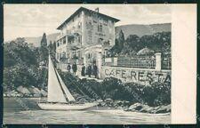 Croazia Croatia Lovrana Lovran Restaurant Antoniushof cartolina XF6901