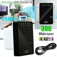 300Mbps WiFi Wireless Repeater Extender Signal Booster Router Range Home Network