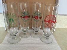 Capital Garten  Brau Set Of 4 Beer Glasses