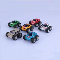 New Mini Children Kids Big Wheels Metal Die-cast Pull Back Car Model Toys Gift