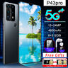 P43pro 6.5 inch 8g+256g 5G Dual SIM Card Octa Core Android 10 Smart Mobile Phone