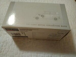 Die Cast Metal Collector's Bank 1928 Ford Model A Sedan Hobart Corp