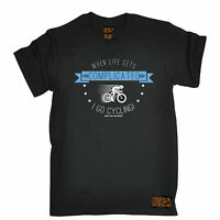 Life Complicated Cycling MENS RLTW T-SHIRT tee cyclist bicycle birthday gift
