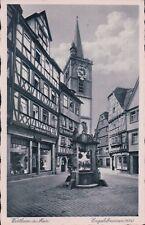 1940s Postcard (AK) - Baden- Wuerttembegr, Wertheim am Main, Engelsbrunnen