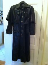 Pyrate Style Ledermantel Leather Coat