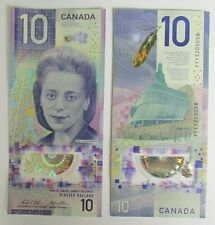 More details for new polymer bank of canada $10 note -  vertical portrait - uncirculated