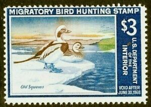 [KN]   #RW34 ~ Mint-NH  U.S. Duck Stamp ~ Always Free Shipping!!!