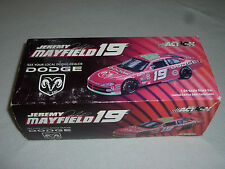 NEW IN BOX ACTION CAR JEREMY MAYFIELD 19 DODGE 2002 INTREPID MAC TOOLS 102526