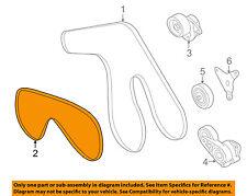 Infiniti NISSAN OEM 06-10 M45-Serpentine Drive Fan Belt 11950AR00A