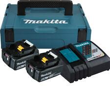 Makita Akku-Set 18V; 6,0Ah Power Source Kit 18V; 6,0Ah -2x Akku BL1860B + DC18RC