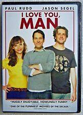 Brand New GIFT Ready I Love You, Man WS DVD Rashida Jones Stoner Bromance Comedy