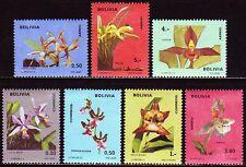Bolivien Bolivia 1974 ** Mi.858/64 Blumen Flowers Flora [sq1795]