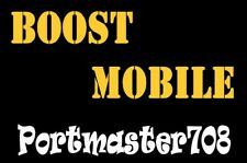 Boost Mobile Prepaid Number For Port!  Leave Message to Seller desired Zip Code