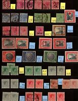 BAHAMAS - Large Collection of 210+ Old Stamps -  Check out the scans.