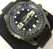 BREITLING Chronospace Navitimer World Ltd Edition M78365 - 48mm Pilot Watch PVD