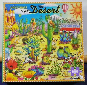 Greetings from the Desert, Re-Marker- 500 Piece Puzzle