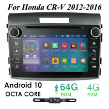 For Honda CRV 2012-2016 7'' Android 10 4GB & 64GB Touch Screen Radio GPS BT WiFi