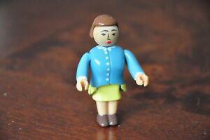 THOMAS TANK ENGINE WOODEN RAILWAY - Mrs Hatt Figure - Like NEW