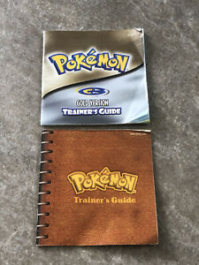 Pokemon Gold & Trainer's Guide Manual ONLY Nintendo Gameboy Color Authentic
