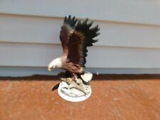Home Interiors Homco Masterpiece Porcelain Majestic Wings Eagle Bird Figurine