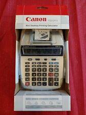 Canon P23-Dh V 2 color Mini-Desktop Printing Calculator Brand New In Box