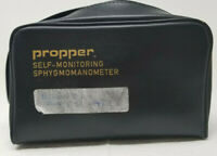Vintage Propper Self-Monitoring Sphygmomanometer Carrying Bag Blood Pressure