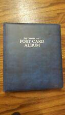 1972 Travel Log Postcard Album Writewell