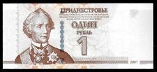 World Paper Money - Transnistria 1 Ruble 2007 P42 @ Crisp Unc