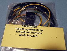C28) 1969 Ford Mercury Cougar - Tilt column harness