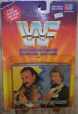 1990 WWF Superstars Card Game with Jake The Snake vs Ted Dibiase 2 Card Decks