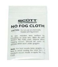 SCOTT No Fog Cloth for Googles Recoil Pro Xi Voltage 89Si Pro Youth Goggle
