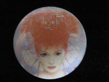 Toyah Willcox-Punk-Pin Badge Button-80's Vintage-Rare