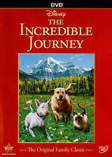 THE INCREDIBLE JOURNEY (NEW DVD)