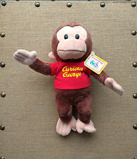 Lot of 3 Gund Curious George Red Shirt Plush Toy Stuffed Animal 12""