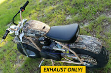 Exhaust Header for: Coleman Ct200U-Ex Camo 196cc/6.5Hp Gas mini bike.