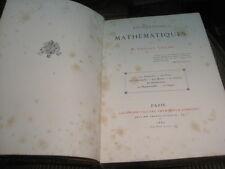 Edouard LUCAS: Récréations mathématiques. 1882 (édition originale) relié