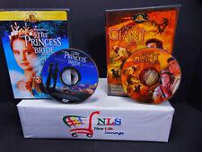 Jack the Giant Killer & Princess Bride DVD Movies