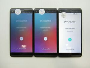 Lot of 3 LG V20 H918 T-Mobile Check IMEI Fair Condition 6-6321
