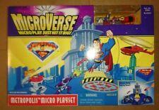 Superman MicroVerse Metropolis Playset mini figures and play set rare