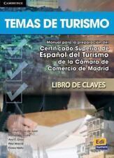 Temas de Turismo Answer Key by Pilar Marcé, Marisa de Prada Segovia, Eloísa...