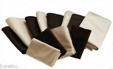Watch Buffing Aid  Horosafe Buffing Cleaning Cloth Kit - Lot of 12 Black & Grey