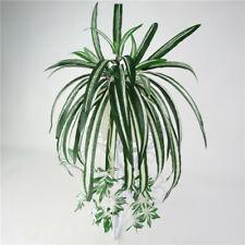 Artificial Chlorophytum Fake Comosum Spider Plant Green Home Party Garden Decor