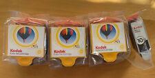 Kodak Combo Pack Ink Cartridges Never Used Sealed Packs 3 Color 1 Black