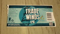 AUSTRALIAN BEER LABEL, GULF BREWERY HAHNDORF SA, TRADE WINDS IPA