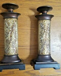 2-Stratford Home Candle Stands
