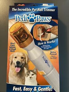 As Seen On Tv Pedi Paws Pet Nail Trimmer
