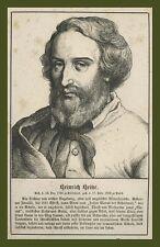 Heinrich Heine Düsseldorf poesia Germany Gedichte lirica Wigand Lipsia 1857